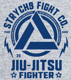 Jiu-Jitsu Fighter • Hooded Sweatshirt - Strych9