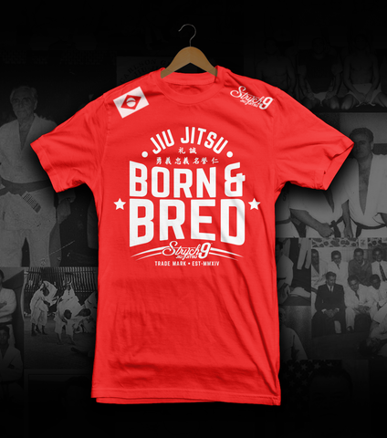 BORN & BRED • T-Shirt - Strych9