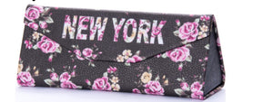 Robin Ruth Brown Floral Case New York