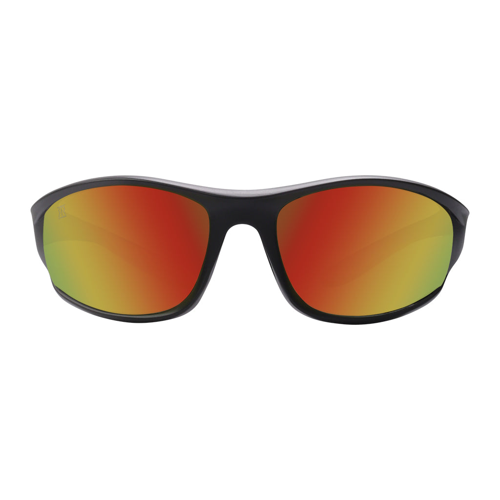 Funkastic Orange sports sunglasses