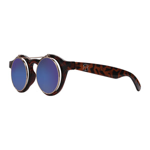 Robin Ruth leopard cha cha sunglasses in profile