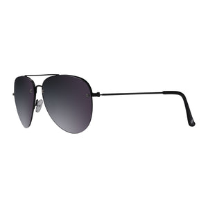Ashers Black Sunglasses in profile