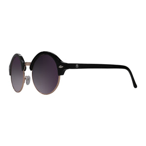 Menta side view sunnies purple with purple