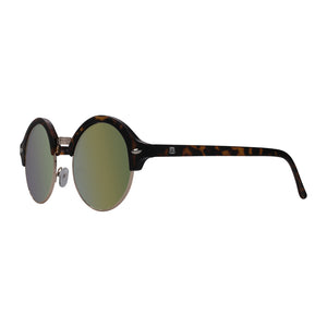 Gold Lens black frame Menta sunglasses
