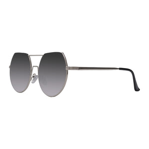 Chicago silver sunnies in profile