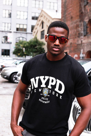 Cool black guy wearing Robin Ruth Duval Sunglasses