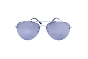 Robin Ruth Asher Silver Sunglasses