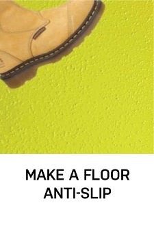 make a floor anti slip epoxy resin grip paints