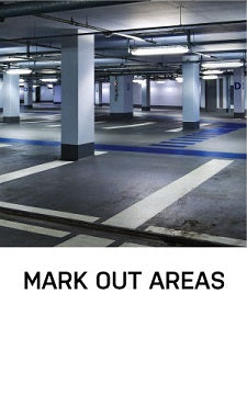 mark out areas epoxy resin line marking paint