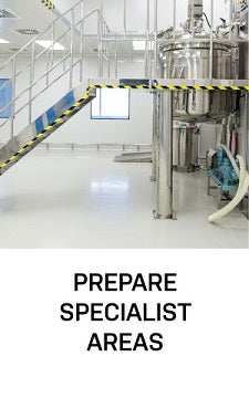 prepare specialist areas chemical resistant metal epoxy paint primers
