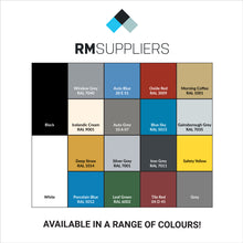RM Suppliers Colour Chart - Not All Colours Available for All Products