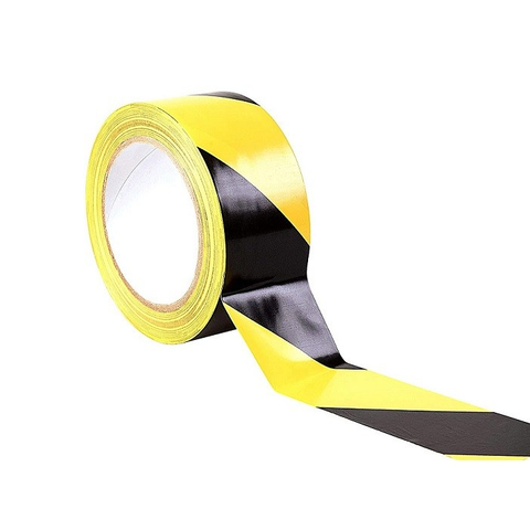 Hazard Floor Tape - Black & Yellow