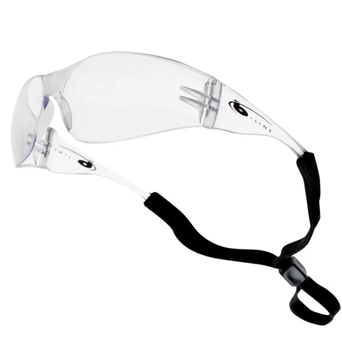 Anti-Scratch Safety Glasses with Adjustable Strap