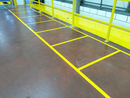Line Marking Paint For Hard Surfaces & Car Parks