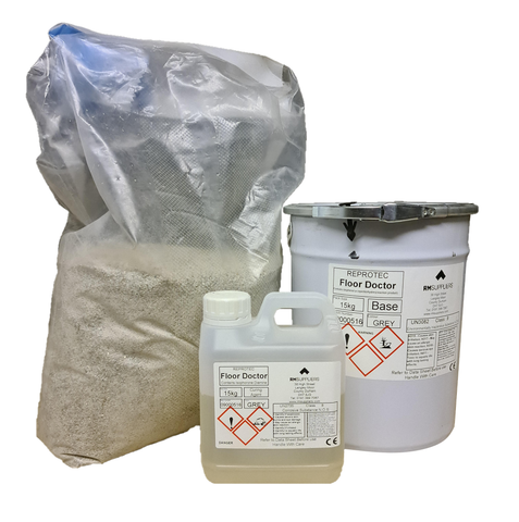 Floor Doctor Concrete Floor Repair Resin
