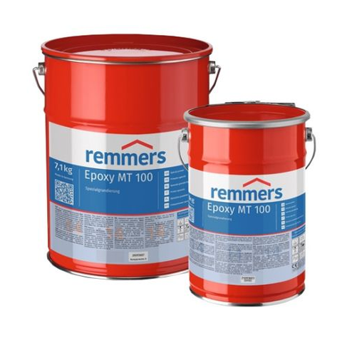 Remmers Epoxy MT 100 | Fast Primer for Residual Moisture