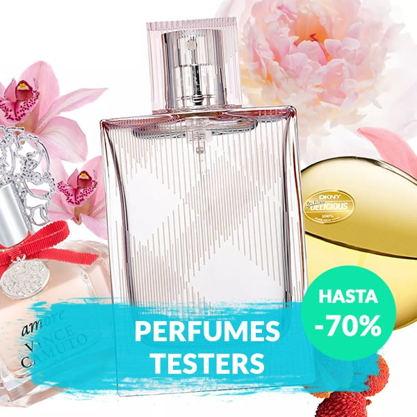 Perfumes Testers hasta 70%DCTO