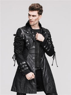 Steampunk Men's Jacket by Steampunk Haolin