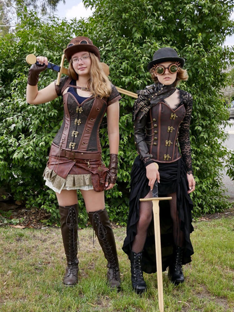 Image result for women's steampunk clothing