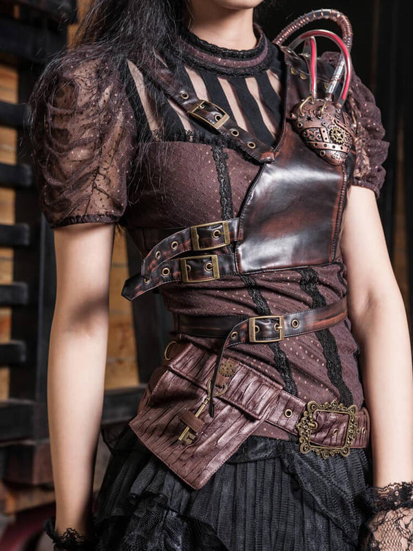 Fanny Pack Steampunk Accessories Pirate Accessories For Women Messenger Bags