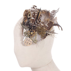 Haolin Steampunk Accessories Gothic Clothing Gears Headdress Lolita Cosplay Cap