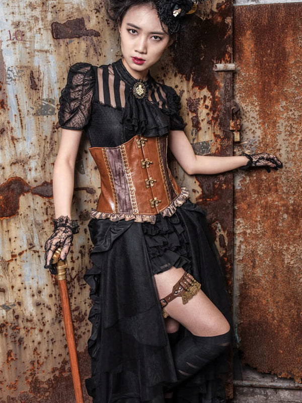 Pirate Renaissance Womens Dresses Steampunk Skirts For Wome Steampunk Womans