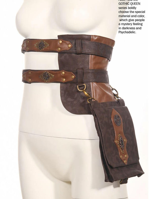 Womans Messenger Bags Steampunk Accessories Backpack Fanny Packs For Women Womens Belt
