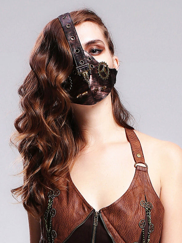Gothic Clothing Steampunk Mask Masquerade Mask For Women
