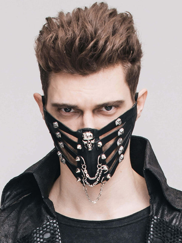 Gothic Clothing Steampunk Mask Men