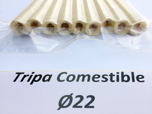 Tripa comestible recta calibre 22
