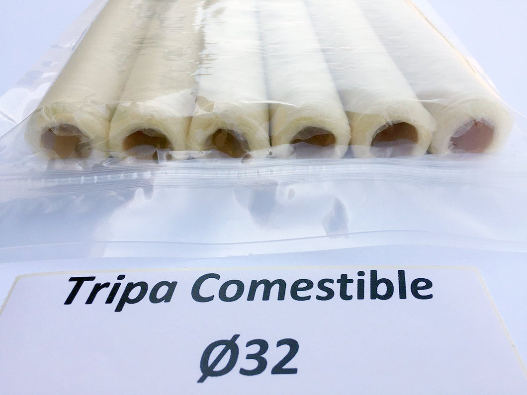 Tripa comestible recta calibre 32