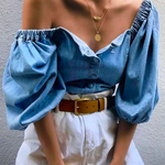 AZUL Off-Shoulder Shirt