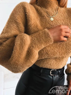 FUR Turtleneck Sweatshirt
