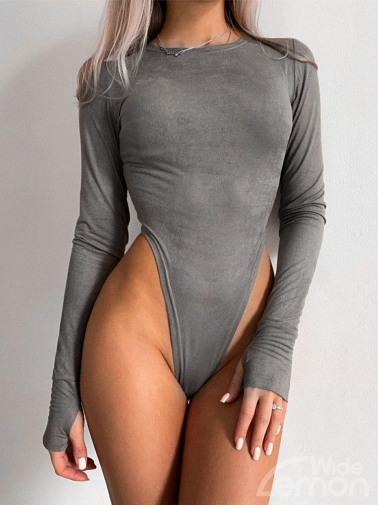 VELVET Long Sleeve Bodysuit