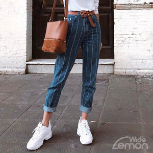AZUL Striped Trousers