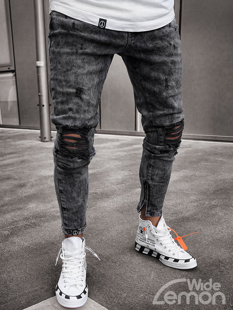 URBAN Skinny Ripped Jeans