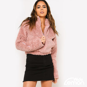 TEDDY Fur Sweatshirt