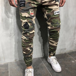 MILITARY Skinny Jeans