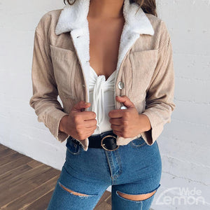 KHAKI Thick Jacket