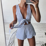 Blue Lines Two Piece Set