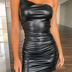 MAMBA Black Skinny Dress