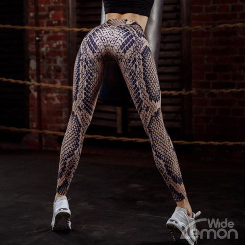 SNAKE Fitness Leggings