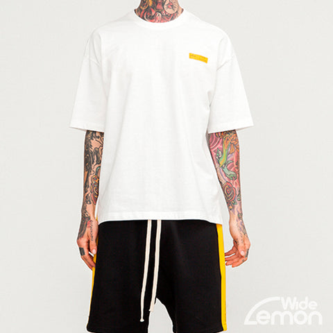 ISSUE White Short Sleeve T-Shirt