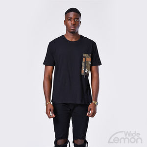 CAMOUFLAGE Black T-Shirt