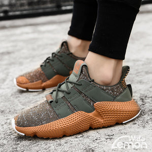 URBAN Green Mesh Trainers