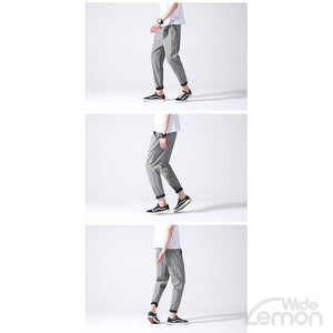 Grey Checkered Trousers