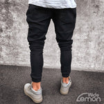 Black Casual Skinny Jeans