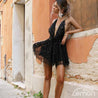 BLACK Summer Short Dress