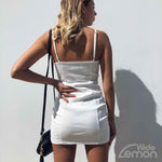 BLANC Zipper Dress