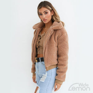 SHEEP Style Brown Coat